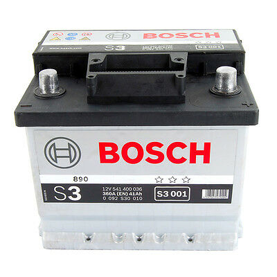 Bosch S3 Car Battery Type 063 With 3 Year Warranty