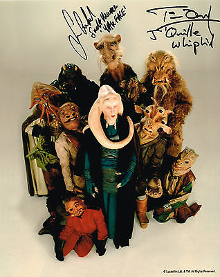 Tim Dry Sean Crawford  Star Wars  Hand Signed Photo Coa Autograph #2