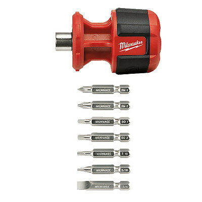 Milwaukee 48-22-2120 Compact 8IN1 Multi Bit Driver New