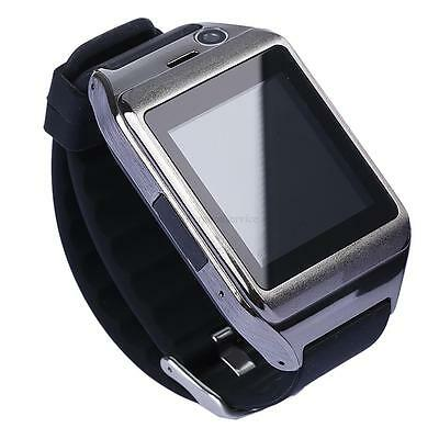 "US Unlocked 1.5"" Touch Screen Wrist Watch Cell Phone Bluetooth Camera MP3/4 GSM"