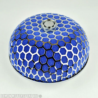 "Universal Mushroom Dome Air Filter Blue 2.5"" / 63mm For Induction Kit (39011)"