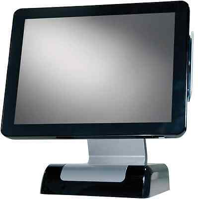NEW SAMSUNG FLAT SCREEN  POS SYSTEM WITH FUTURE POS RESTAURANT SOFTWARE