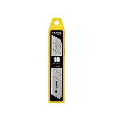 Tajima 10pk Utility Knife Replacement Blade LCB-65 New