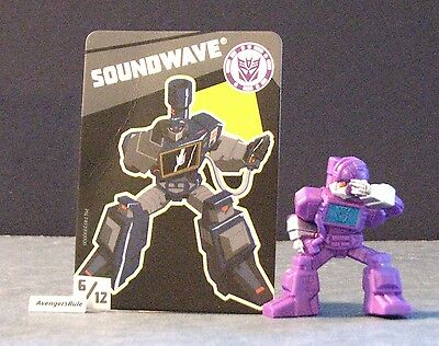 Transformers Tiny Titans Series 2 Robots in Disguise 6/12 Soundwave