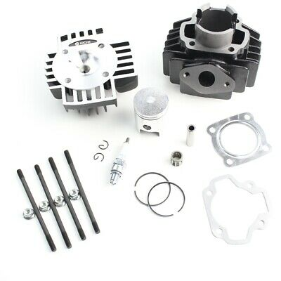 Cylinder Piston Gasket Head Top End Kit for Yamaha QT50 Towny 1979-1987