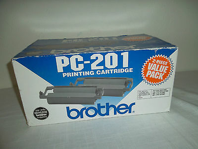 Brother OEM Black Fax Cartridge 450-Pages MFC-1770 MFC-1870MC MFC-1970MC PC-201