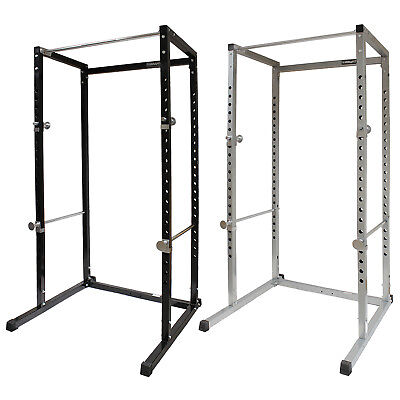 MIRAFIT Power Cage Squat Rack & Pull Up Bar Multi Gym Bench Press/Weight Lifting