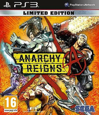 ANARCHY REIGNS - LIMITED EDITION | PS3 | Playstation | WIE NEU | USK18