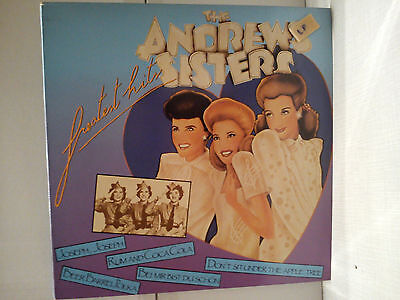 Andrews Sisters - Greatest Hits    .......................  Vinyl