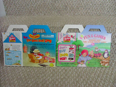 1988 2 Different WENDY & THE GOOD STUFF GANG Kids' Meal Boxes. New & Unused