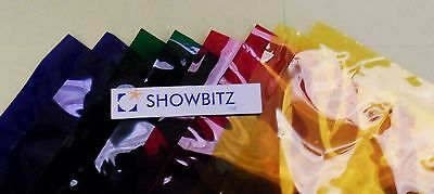Sheet of Lee Filters L777 1.22 x 0.53m colour acetate stage lighting gel Rust