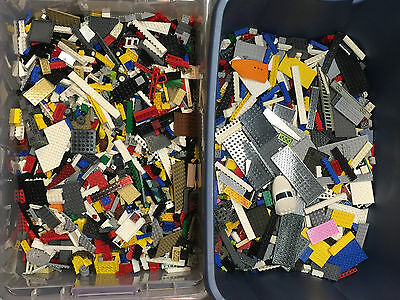 Lego 1-99 Pounds LBS Legos Pieces HUGE BULK LOT bricks Star Wars block w/Minifig