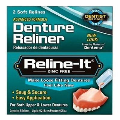 Dentemp Reline-It Advanced Denture Reliner