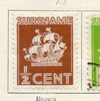 Surinam 1936 Early Issue Fine Mint Hinged 1/2c. 122814