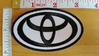 Toyota Logo Embroidered iron on patch badge applique car automobile
