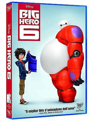 Big Hero 6 (Dvd) Animazione Digitale Walt Disney Vincitore Oscar 2015