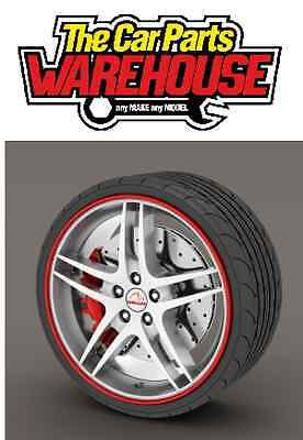 "Rimblades Alloy Rim Protector Or Refurbisher Red Upto 22"" Wheels * Ss5133"