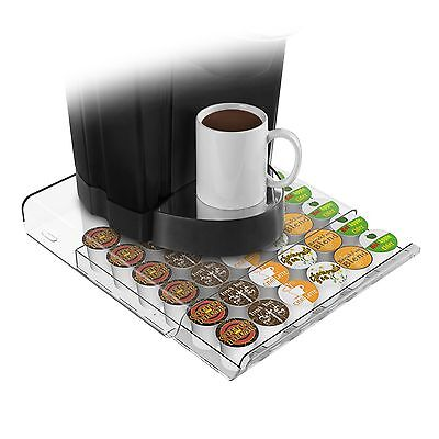 Mind Reader HERO Coffee Pod Drawer for 36 K-Cup Pods, Clear