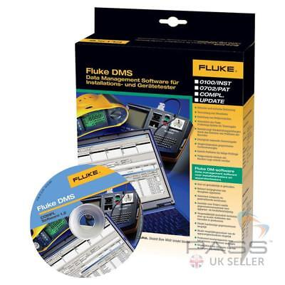 *Clearance* Fluke DMS 0100/INST PROF Software for Fluke Multifunction Testers