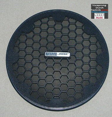 NEW Audi A4 S4 RS4 Convertible Cabriolet BOSE Speaker Cover Grill BLACK