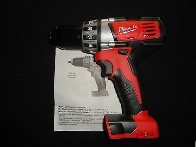 (1) MILWAUKEE 2601-20 18V 18 VOLT LITHIUM ION DRILL DRIVER TOOL ONLY NEW