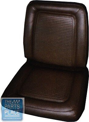 1964-65 Barracuda / 1965 Valiant Signet Seat Covers Black- Front & Rear - PUI