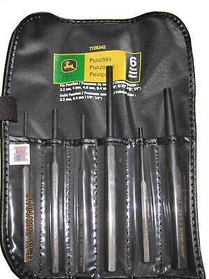 John Deere 6-Piece Pin and Punch Set - TY26342