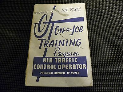 Department of the Air Force ON THE JOB Air Traffic Control Operator jp27250 book
