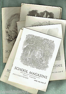 #bb. Nine 1962 Nsw Department Of Education School Magazines