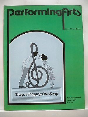 THEY'RE PLAYING OUR SONG Large Program ROBERT KLEIN / LUCIE ARNAZ Tryout LA 1979