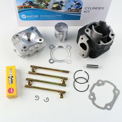 Yamaha Zuma YW50 Cylinder Piston Gasket Cylinder Head Top End Kit 2002-2011