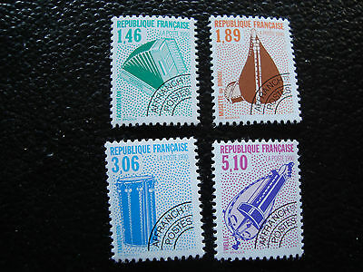 FRANCE - timbre yt preoblitere n° 206 a 209 n** (A2) stamp french
