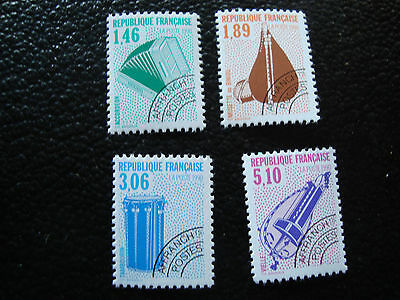 FRANCE - timbre yt preoblitere n° 206 a 209 n** (A2) stamp french (A)