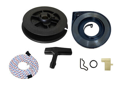Recoil Starter Pull Repair Kit Pulley Spring Handle Pawl Fits STIHL TS400