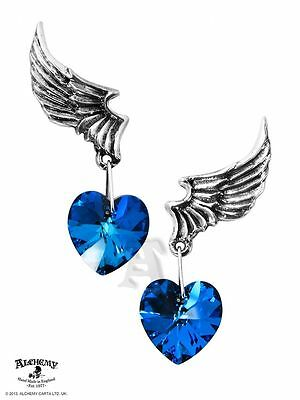 Alchemy UL17 El Corazon Pewter Pair of Earrings BRAND NEW