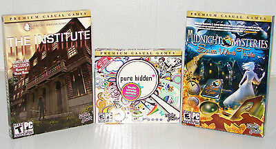 lot of HIDDEN OBJECT SEEK & FIND (PC GAMES)  *NEW*  LOW PRICE + FREE SHIPPING