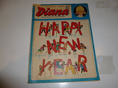DIANA Comic - No 307 - Date 04/01/1969 - UK PAPER COMIC