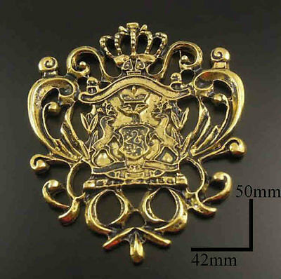 dolls house miniature Coat of Arms Shield Plaque Ornament fireplace Picture LGWS