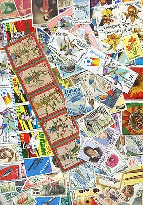 1,000 Mint Large Pictorial Stamps - No Duplicates - $300.00 Value!