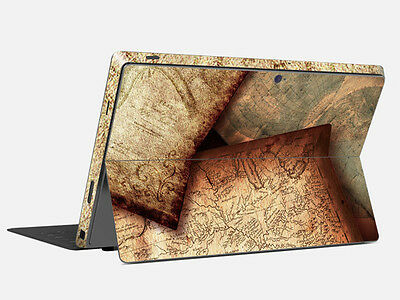 Vinyl Tablet Sticker Decal Cover Skin Protector Cover For Microsoft Surface Pro