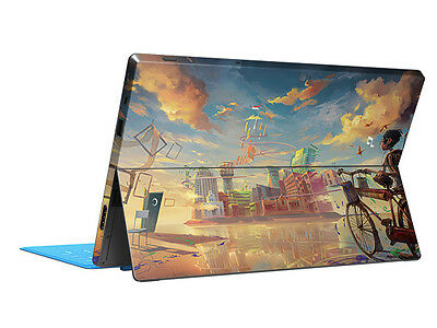 Simple Life Skin Sticker Cover Protector Decal For Microsoft Surface RT Tablet