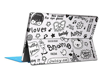Cute Life Vinyl Skin Sticker Cover Protector Decal For Microsoft Surface RT