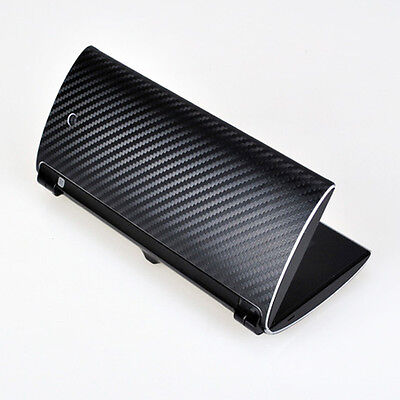 Cool Black Carbon Fiber Decal Sticker Protector Skin Cover For Sony Tablet P
