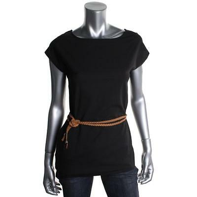 AGAINST NUDITY FROM MONTREAL NEW Viviane II Black Chiffon Blouse Top S BHFO