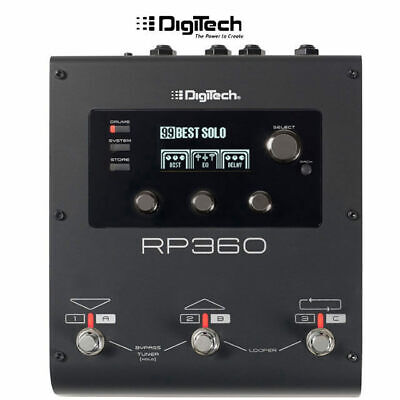 DigiTech RP360 Guitar Multi Effects Pedal Processor
