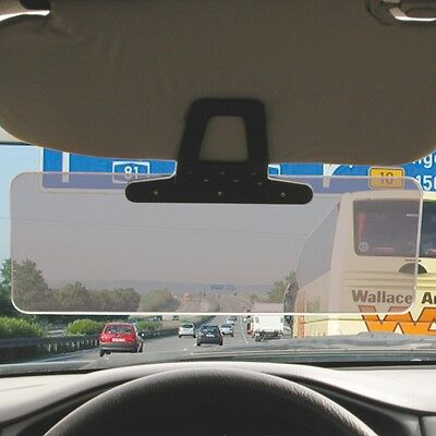 Carpoint Sun Visor Extension Clip on Car Glare Reducer low morning evening sun