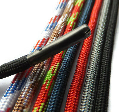 5mm Extra Strong MEATL TIPPED Shoelaces Boot Hiking Lace - A* Excellent Quality