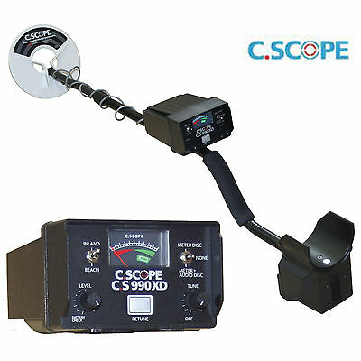 C Scope CS990XD, Non Motion,+ Coil Cover & Headphones