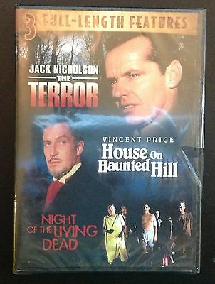 The Terror / House On Haunted Hill / Night of the Living Dead (DVD - Triple)