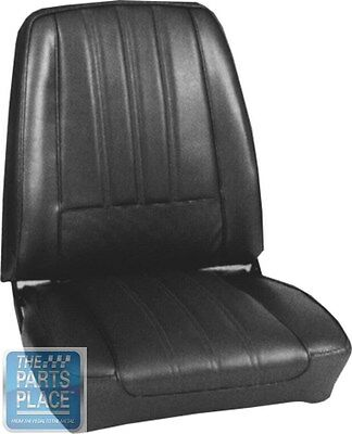 1968 Barracuda Deluxe Maroon Seat Covers- PUI